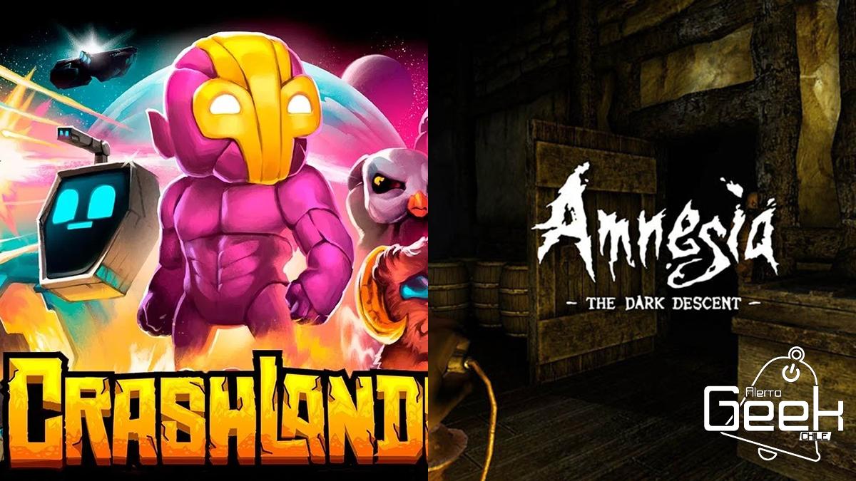 Amnesia: The Dark Descent y Crashlands se encuentran ...